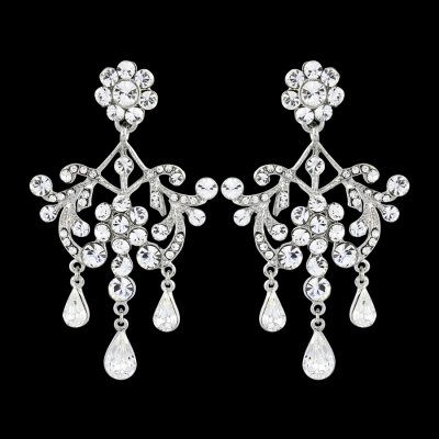 Elite Collection Romance Crystal Earrings