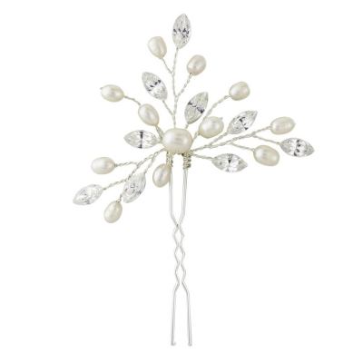 Elodie Pearl Spray Bridal Pin