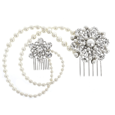 Elite Collection Luxe Pearl Dream Headpiece