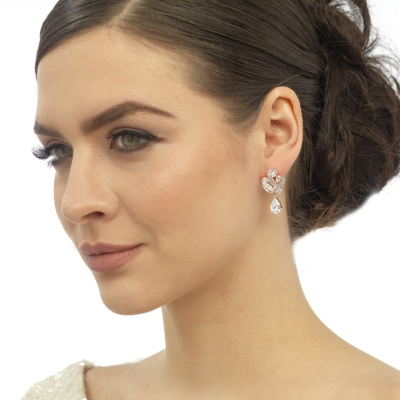 CZ Collection Bejewelled Earrings