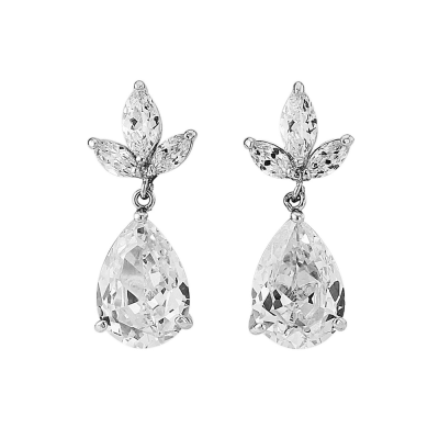 CZ Collection Pretty Chic Earrings