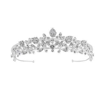 Sass B Rosa Luxe Crystal Tiara