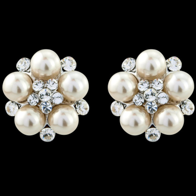 Clip On Screw style Classic Pearl Earrings