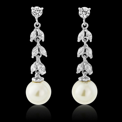 CZ Collection Sparkling Starlet Earrings