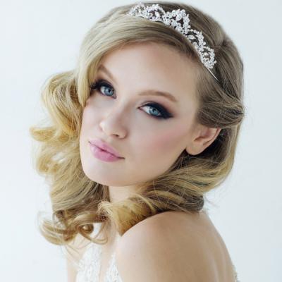 Sass B Lavina Tiara Crystal Embellished