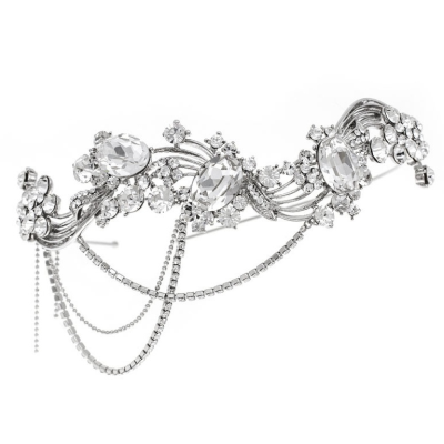Elite Collection Bejewelled Gatsby Style Headband