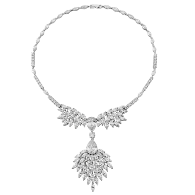 CZ Collection Statement Necklace