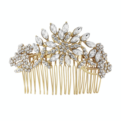 Athena Extravagance Hair Comb - Gold