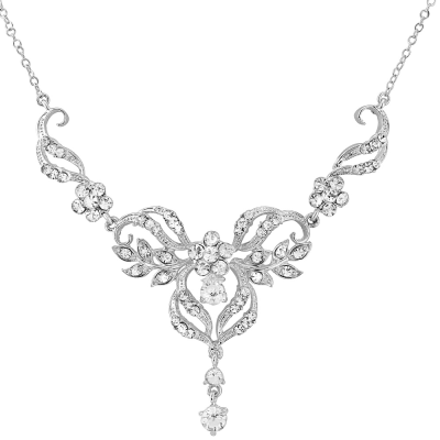 Sass B Collection Crystal Chic Necklace Set