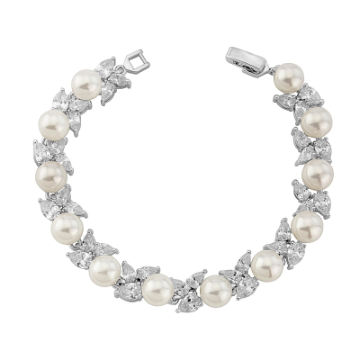 Cubic Zirconia Collection Starlet Glam Bracelet