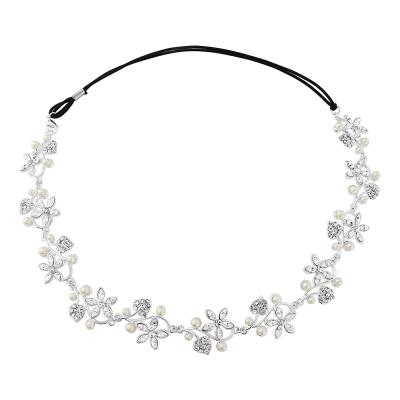 Sass B Marielle Pearl Garland Headpiece - Ivory