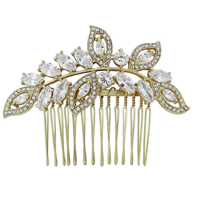 Athena Gold Hair Comb