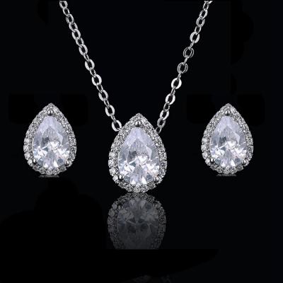 CZ Collection Dainty Gem Necklace Set