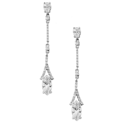 CZ Collection Dainty Sparkle Earrings