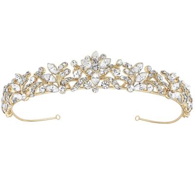 Sass B Corinne Luxe Tiara - Gold