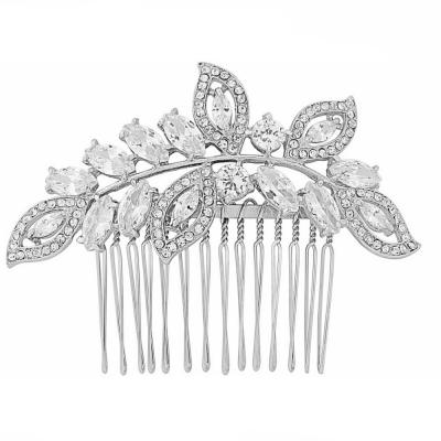 Athena Silver Hair Comb