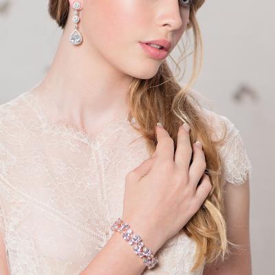 Crystal Extravagance Bracelet - Silver