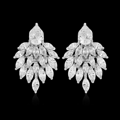 CZ Collection Statement Earrings