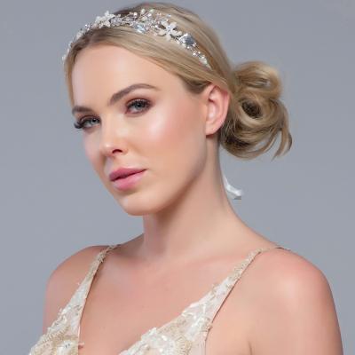 Sass B Jasmine Romantic Vine Headpiece Silver