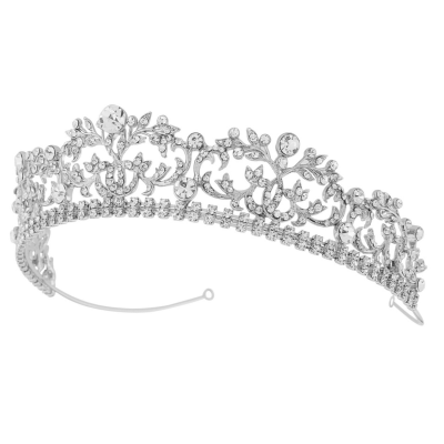 Sass B Juliet Exquisite Crystal Tiara