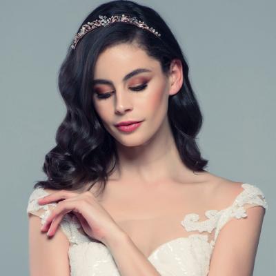 Sass B Clarabelle Tiara - Rose Gold