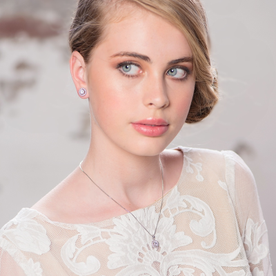 CZ Collection Chic Crystal Necklace