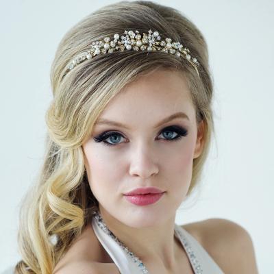 Sass B Ellen Tiara - Rose Gold