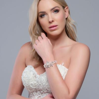 SassB Divine Pearl Bracelet - Rose Gold