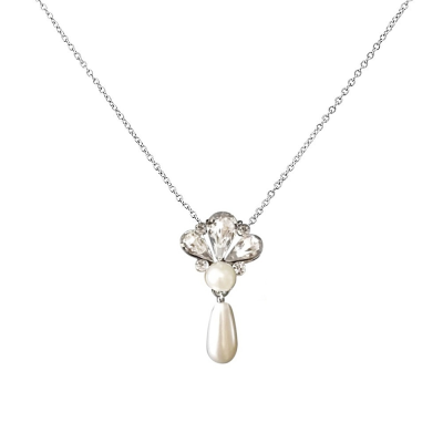 Sass B Collection Gatsby Pearl Drop Necklace