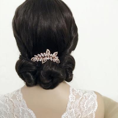 Athena Gold Hair Comb