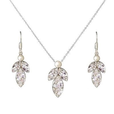 Sass B Collection Dainty Drop Necklace Set