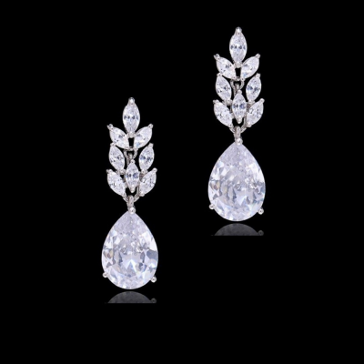 CZ Collection Starlet Chic Earrings