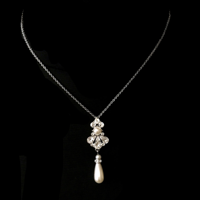 Sass B Collection Exquisite Starlet Pearl Necklace