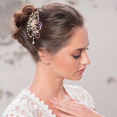 Elite Collection Starlet Allure Hair Comb - Rose Gold