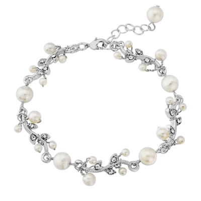 Sass B Collection Silver Starlet Bracelet