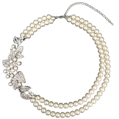 Sass B Collection Regal Exquisite Pearl Necklace