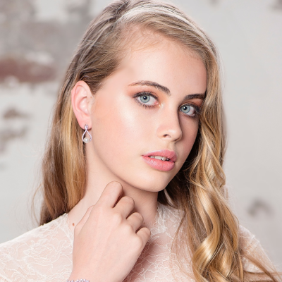 CZ Collection Vintage Chic Earrings