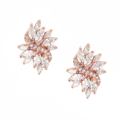 Eternally Chic Earrings - Rose Gold