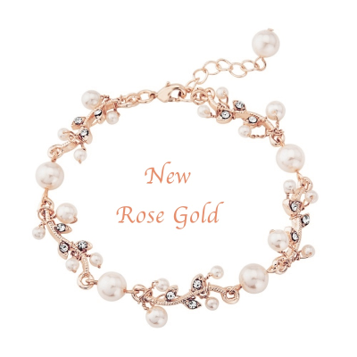 Sass B Collection Rose Gold Starlet Bracelet