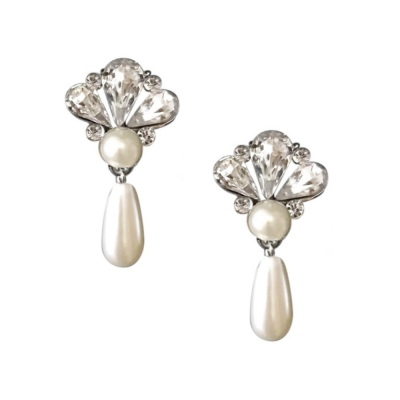 Sass B Collection Gatsby Pearl Drop Earrings