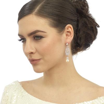 Vintage Dream Earrings - Ivory - Rose Gold