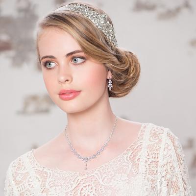 CZ Collection Exquisite Sparkle Necklace Set