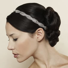 Jennifer Behr Headband - Triple Row Braid