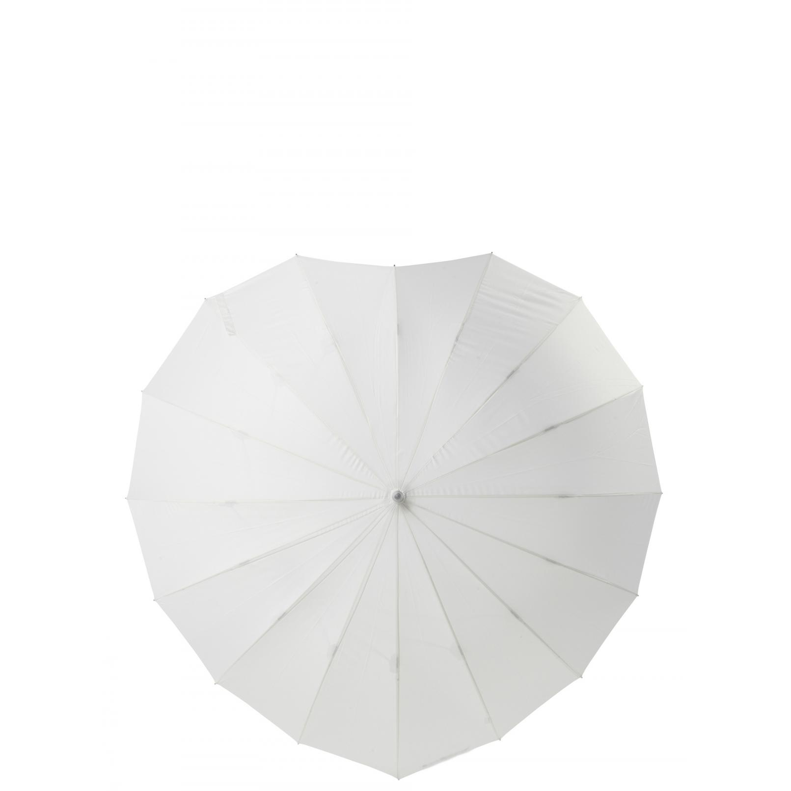 Poirier Heart Wedding Umbrella 1