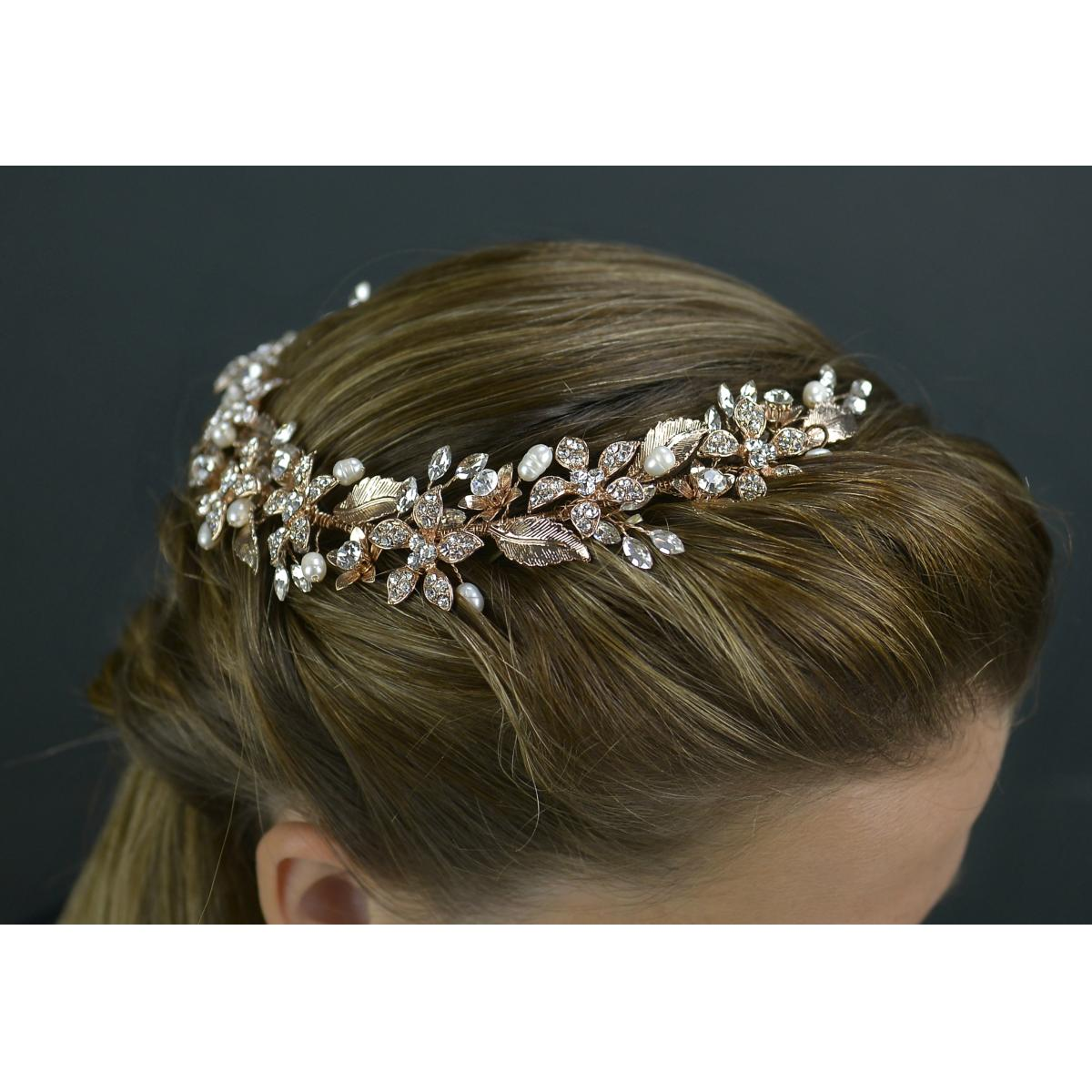 Twilight 'Giovanna' Rose Gold Headband 1