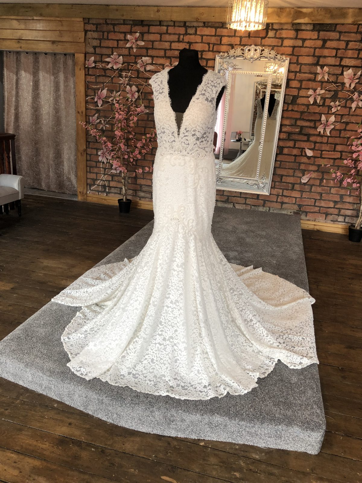 Calla Blanche Wedding Dress 1
