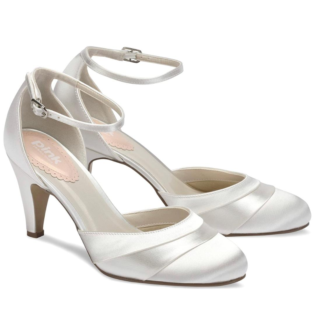 Pink Paradox 'Fresh' Ivory Wedding shoe 1
