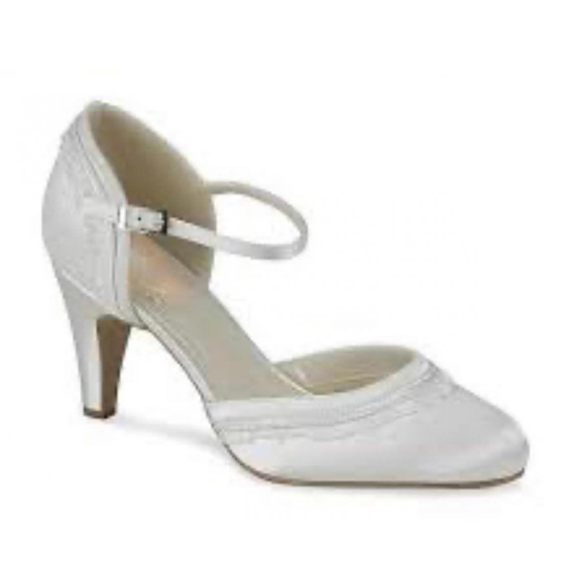 Pink Paradox 'Frill' Wedding Shoe 1