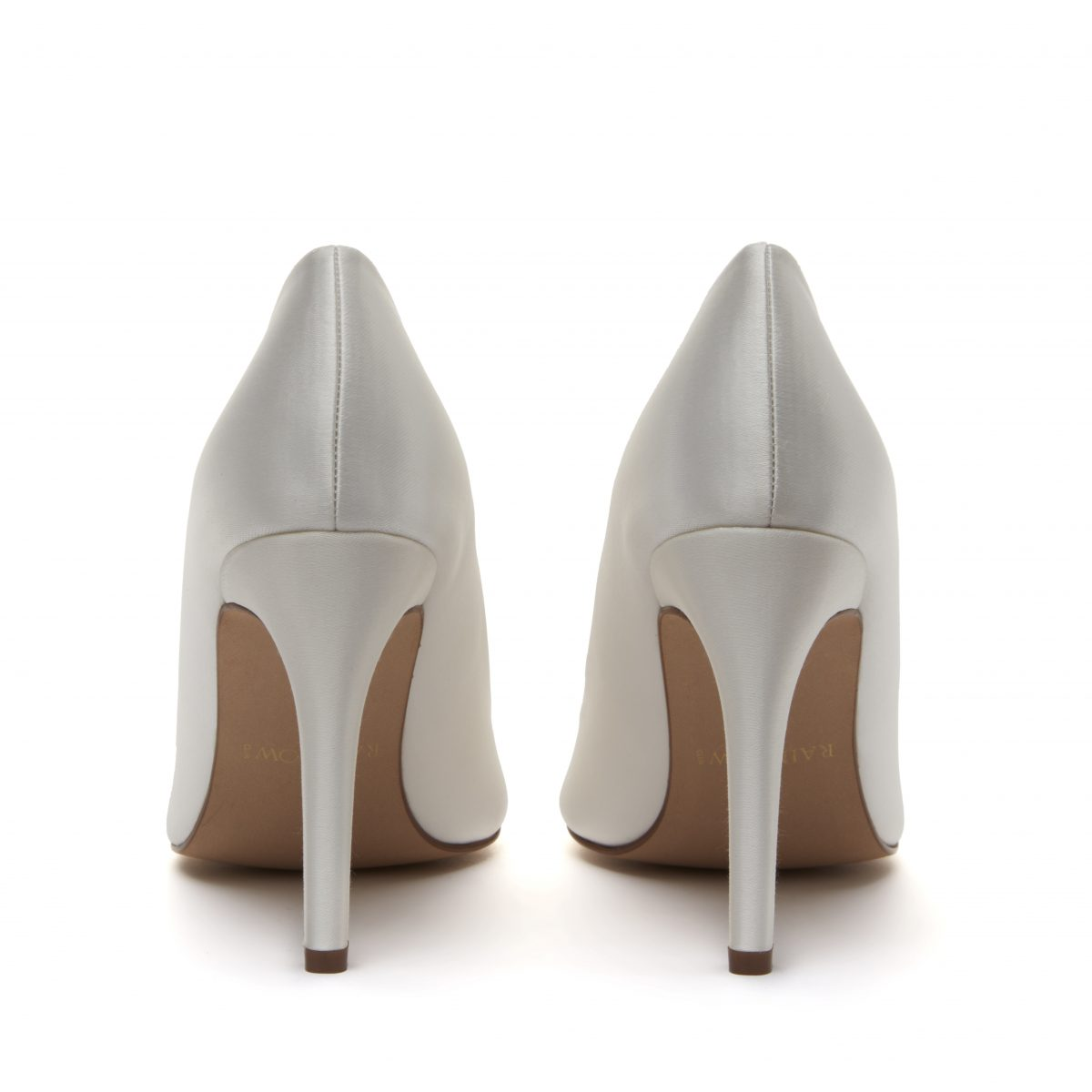 Rainbow Club Nelly - Ivory Satin Court Shoe 4