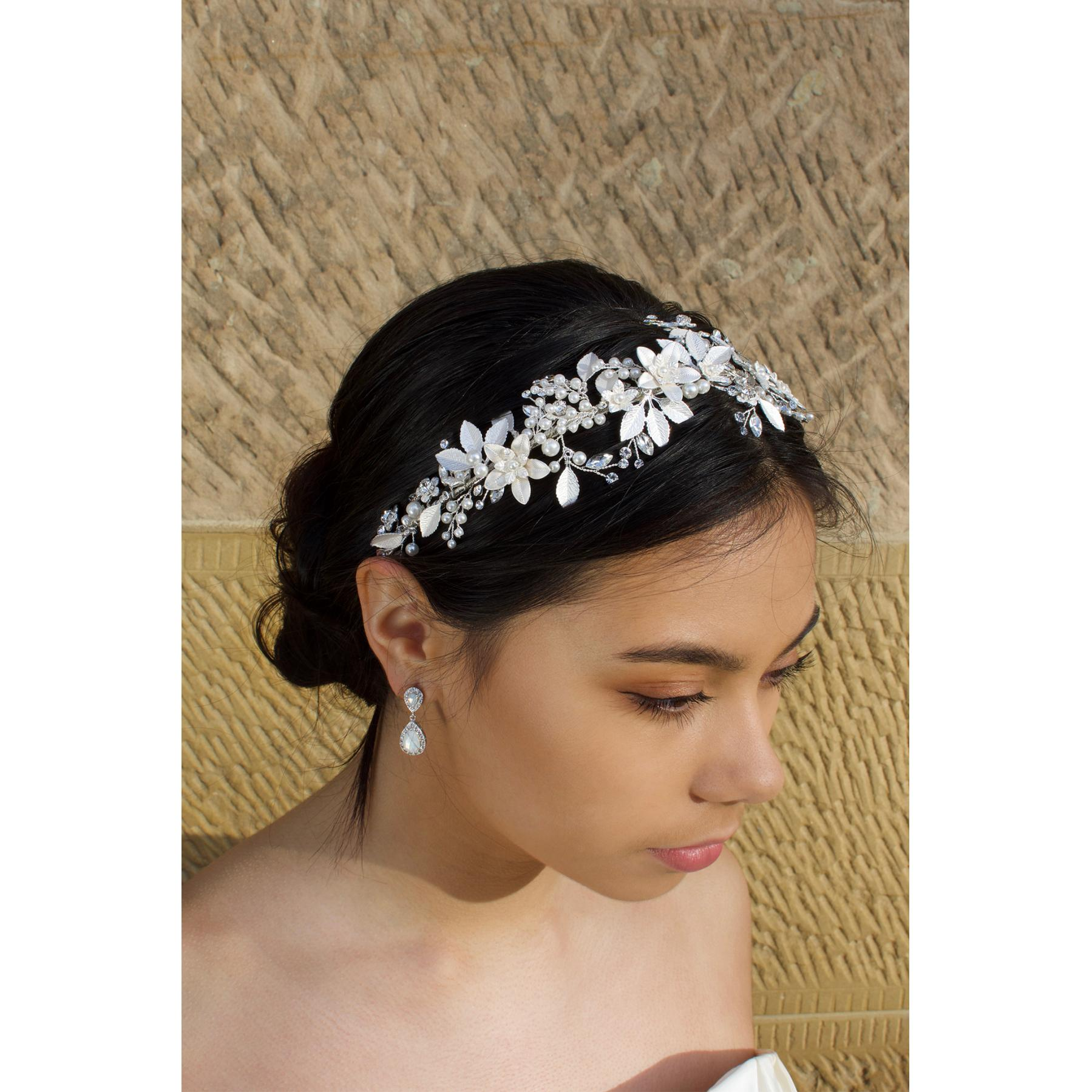 Windsor Maeve Silver Headband - WV203 1